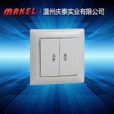 Interruptor de pared Interruptor de luz Interruptor de Control de botón