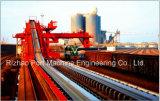 Transporte de correia das microplaquetas de madeira do SPD para a manipulação material portuária
