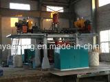 Becken-Plastikstrangpresßling-durchbrennenmaschine des Wasser-2000L, Blasformen-Maschine