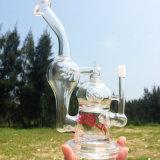 Tre-in-Un riciclare i tubi di acqua di fumo del narghilé di erbe di vetro creativo (ES-GB-259)