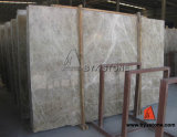 Verde/White/Black/Grey Stone Marble para Flooring Tile