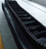 Transportband van de Zijwand van de Transportband van de transmissie de RubberRubberMet Ribben en Rokken