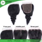 Cabelo autêntico de Remy do Virgin do cabelo indiano cru de 100%, produto químico livre e cabelo não processado