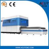 Máquina de corte a laser de fibra de aço carbono para chapa metálica
