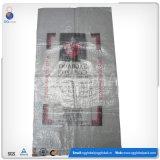 Transparente saco tecido PP para embalar 30kg de batatas
