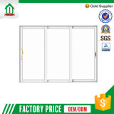 Portes coulissantes en aluminium de chambre à coucher moderne blanche