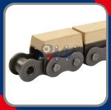 Catena del rullo del trasportatore di alta qualità con i profili vulcanizzati dell'elastomero