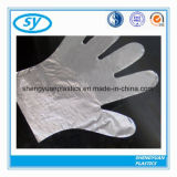 Guantes disponibles de HDPE/LDPE que limpian los guantes para la fabricación de la categoría alimenticia