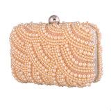 Mais recente Sequined Beaded Pearl Ladies Evening Bag para festa