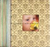 Álbum de papel de Scrapbooking del bebé