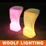 광저우 LED 점화 가구 나머지 바 카운터 테이블과 의자 의 의자