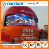 Alto quadro comandi esterno del LED di sport di definizione P5.9 RGB