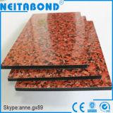 Prix composé en aluminium en pierre (ACP) de panneau