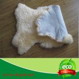 Grande coperte della moquette di lusso/coperta pelle di pecora di Sexto (6p)/doppia coperta naturale della pelle di pecora/coperta genuina reale decorativa della pelle di pecora