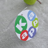 Apparel를 위한 Eco-Friendly Words Cycyle Hangtag