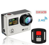 """La caméra vidéo de H3 d'appareil-photo de l'action 4k la plus neuve HD imperméable à l'eau avec """" écran 2.0"""
