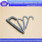 Parafusos de gancho dos parafusos do fabricante J de China