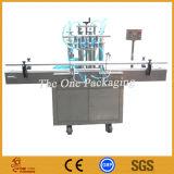 Tipo eléctrico máquina de rellenar líquida automática, llenador Toalf250-4 de la fábrica de Shangai de la botella