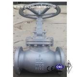 150 lb de aço carbono A216 Flange Ends Globe Valve