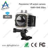 활동 사진기 옥외 360 정도 360X180 큰 Panoram 카메라 렌즈 1.5 인치 소형 스포츠 사진기 Vr
