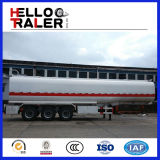 트럭 트레일러는 판매를 위해 3 차축 45000L 원유 탱크 연료 유조선을 이용했다