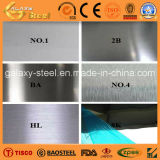 AISI 304 Ba/2b+PVC Films Inox Stainless Steel Sheet 또는 Plate