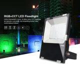 Esteuertes 50W RGB+CCT LED Flutlicht 50W des APP-Telefon-