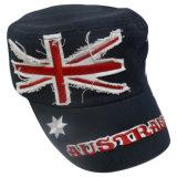 Chapéu militar lavado com Applique (MT22)