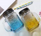 16 het Drinken van het Glas van oz Kruik/de Fles van het Glas van de Metselaar/het Glaswerk van de Metselaar