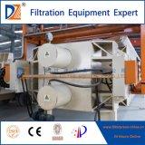 Filtre-presse de lavage de tissu automatique avec le plateau d'égouttement
