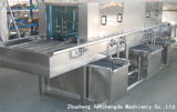 Food veloce Tray Washing Machine per Large Production