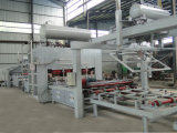 Máquina caliente de las caras del doble de la prensa de la laminación corta automática del ciclo
