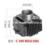 Migliore cilindro del motociclo dei pezzi di ricambio del motociclo di prezzi per i commerci C100