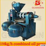 Machine de presse d'huile de soja de Guangxin Yzlxq130-8 avec le filtre à huile