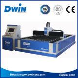 Máquina de estaca do laser da fibra do aço inoxidável do fornecedor profissional/aço de carbono