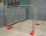 Engranzamento galvanizado do metal que cerc a cerca de Tamporary