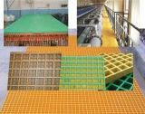 Prezzo stridente del rifornimento FRP/GRP della fabbrica, grata della vetroresina, FRP che gratta per il pavimento della griglia del lavaggio di automobile