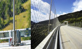 建築構造のためのステンレス鋼のダイヤモンドロープかケーブルの網