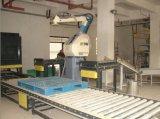 Sac de papier tissé automatique /Sewing de scellage remplissant empilant la chaîne d'emballage