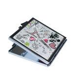 Netter kundenspezifischer Pocket Spiegel Entwurfs-Leder PU-Paris