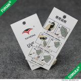 Starke Weißbuch-Karten-Fall-Marken für Kleider