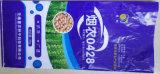 Sac tissé par pp agricole de nourriture pour le maïs, graine de blé, soja