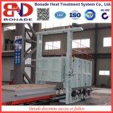 fornalha de recozimento da lareira do vagão 600kw para o tratamento térmico