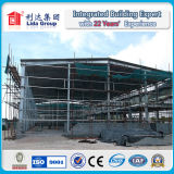 Almacén porta de la estructura de acero del marco