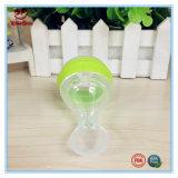 botella que introduce del bebé del silicón del apretón 120ml con la cuchara