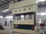 Placa de acero de la puerta que graba el tipo de las columnas de la máquina 4 de la prensa hidráulica 1600 toneladas
