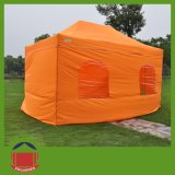 Orange Farbefaltendes Gazebo-Zelt