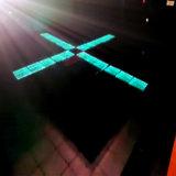 거대한 당과 생산 회의를 위한 쇼핑 복도 3D LED 댄스 플로워