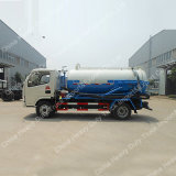 Camion-citerne fécal de vide d'aspiration des mini eaux d'égout 4X2 avec le camion à haute pression de rondelle de rue de camion de nettoyage