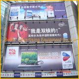 Het openlucht Aan de muur bevestigde Roterende Aanplakbord van Trivision van het Aluminium